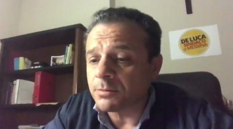 Cateno De Luca risponde alla denuncia del Ministro dell'Interno