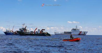 Guardia costiera – vasta operazione di controllo nel mar Tirreno