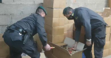 Napoli – Sequestrati botti illegali