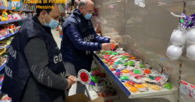 Messina – Sequestrati 23mila giocattoli non sicuri