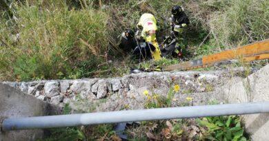 Castanea – Soccorsa persona caduta in un dirupo
