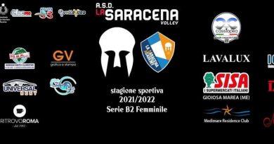 Volley B2F – Cassiopea main sponsor della Saracena